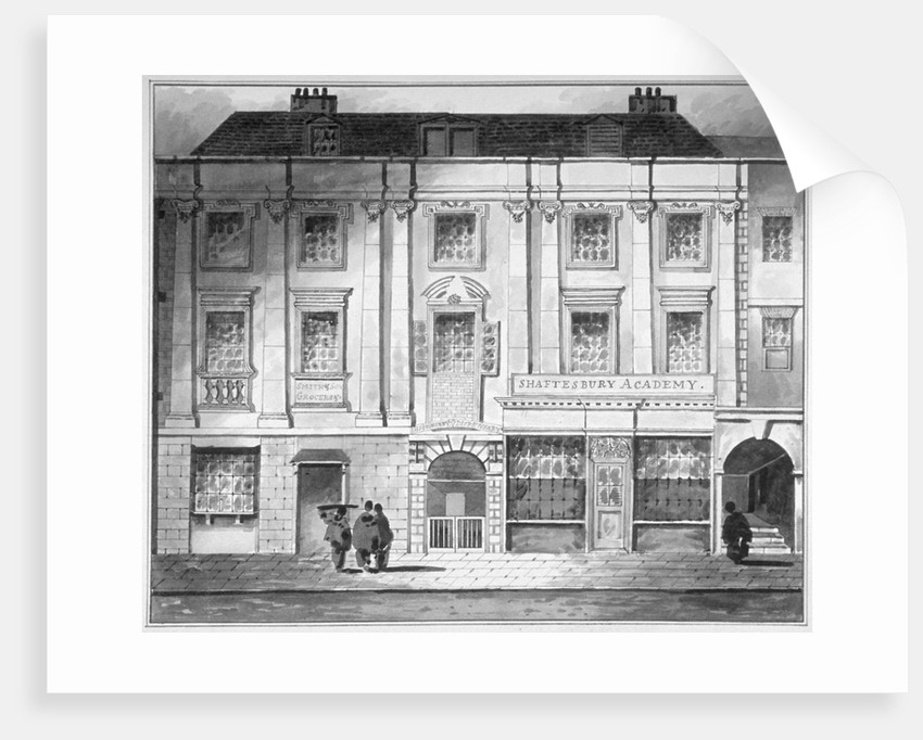 Shaftesbury House, Aldersgate Street, City of London by John King