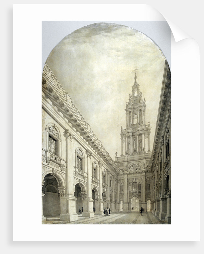 Design for the new Royal Exchange by Frederick Mackenzie
