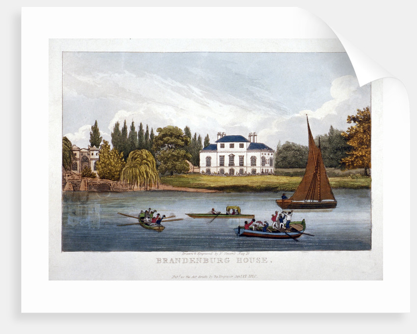 Brandenburgh House, Hammersmith, London by F Vincent