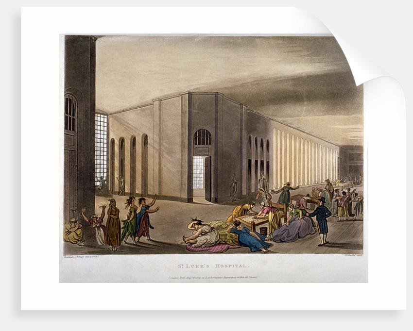 Interior view of St Luke's Hospital, Old Street, Finsbury, London by Joseph Constantine Stadler