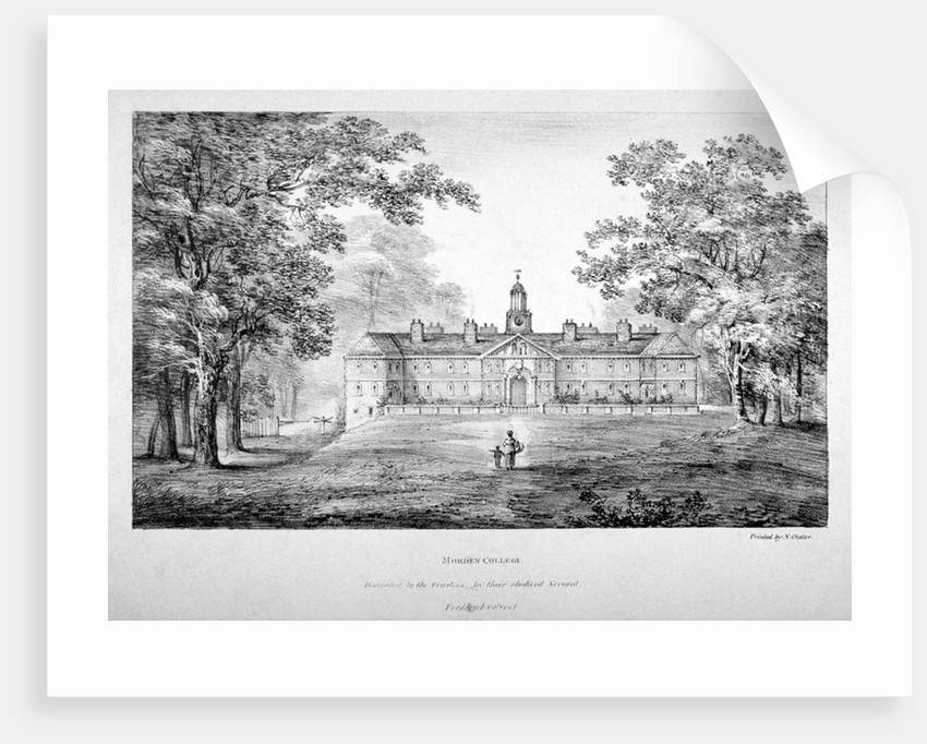Morden College, St German's Place, Greenwich, London by
