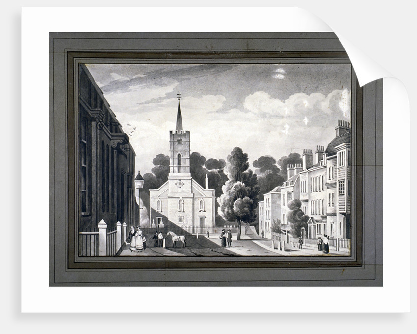 Church Row, Hampstead, London by L Garne