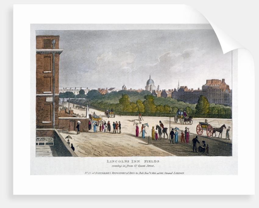 Lincoln's Inn Fields, Holborn, London by Anonymous