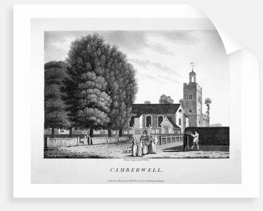 Church of St Giles, Camberwell, London by