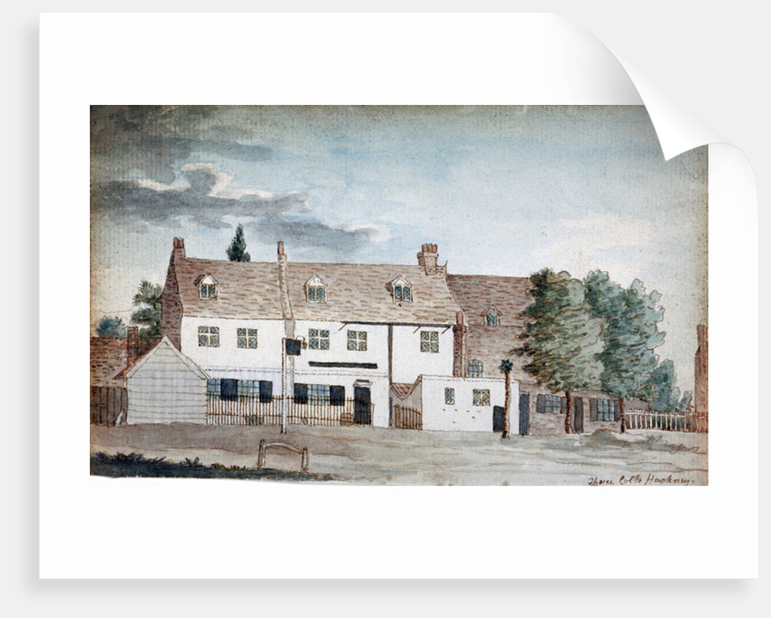 The Three Colts Inn, Hackney, London by Henry Vaughan