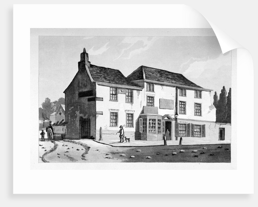 View of the Old Pied Bull Inn, Essex Road, Islington, London by Anonymous