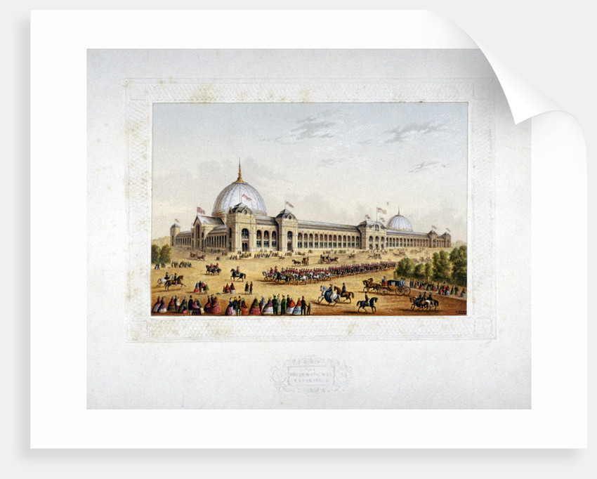 Site of the 1862 International Exhibition, Cromwell Road, Kensigton, London by Anonymous
