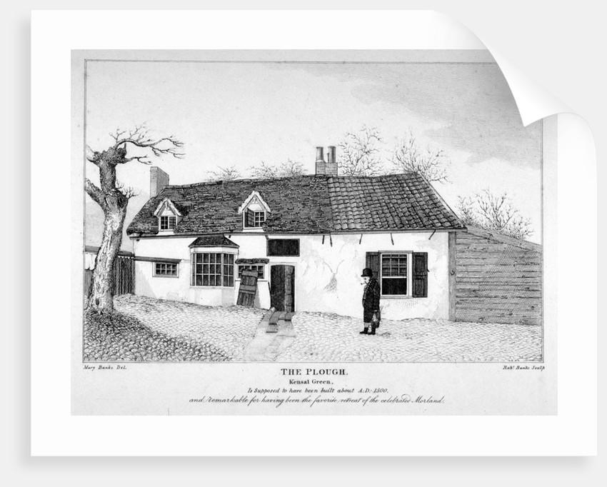 View of The Plough inn, Kensal Green, London by