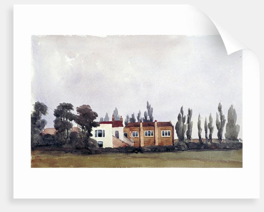 East view of Chalk Farm Tavern, St Pancras, London by Edmund Marks