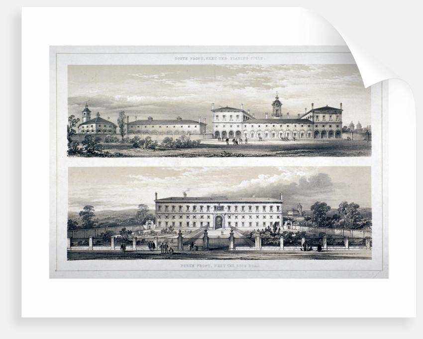 The Royal Naval School, Lewisham High Road, New Cross, Lewisham, London by Anonymous