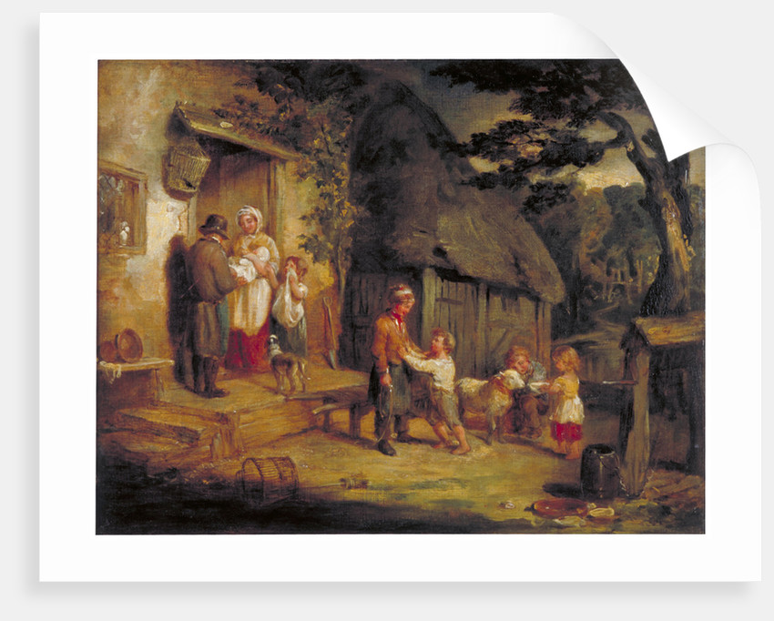 The Pet Lamb by William Collins