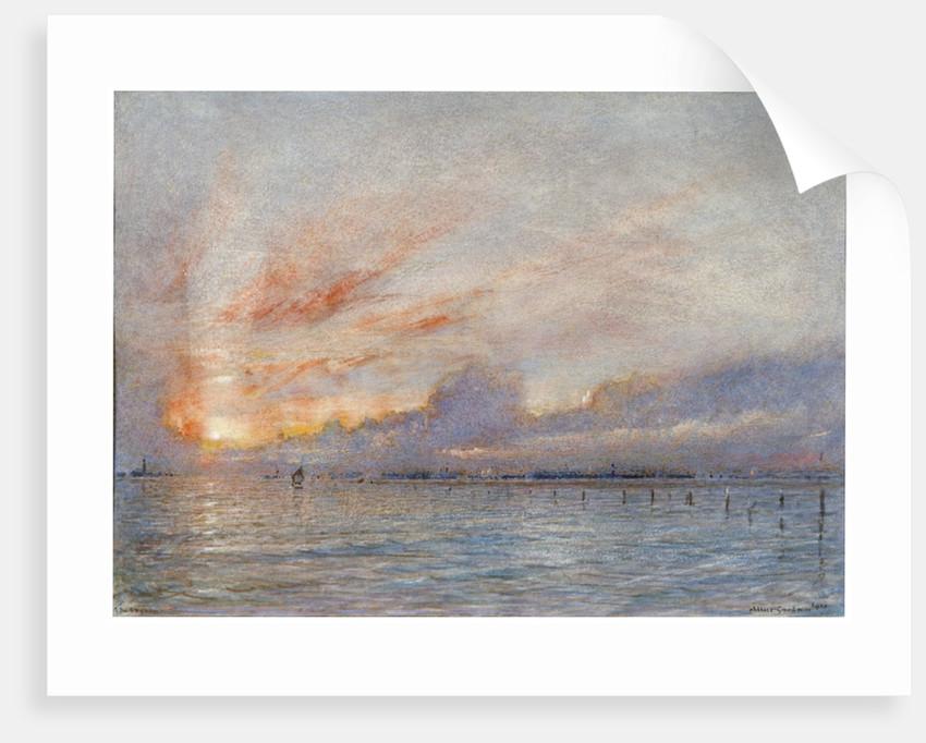 The Lagoons, Venice by Albert Goodwin