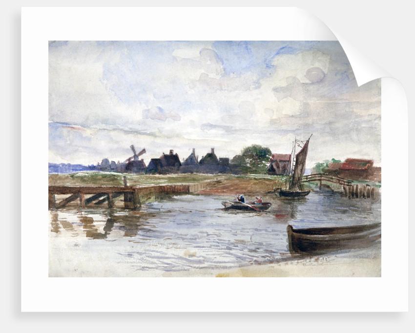 River Scene by