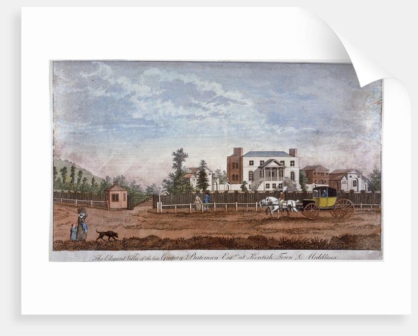 Gregory Bateman's Villa, Green Street, Kentish Town, London by Anonymous