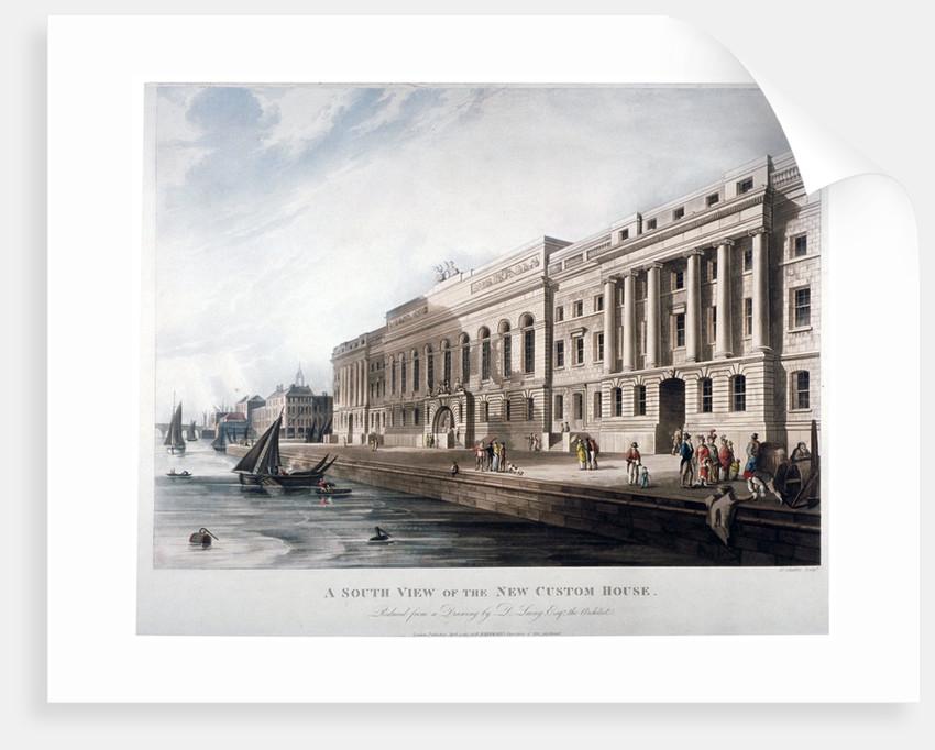 Custom House City Of London Posters Prints By Joseph Constantine Stadler