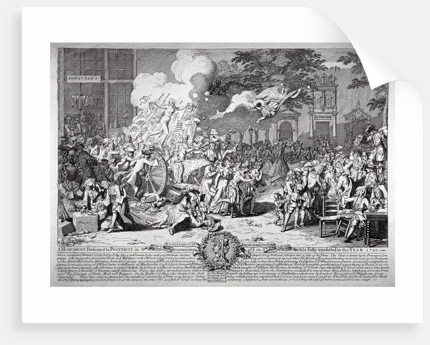 A satire on the South Sea Bubble by B Baron