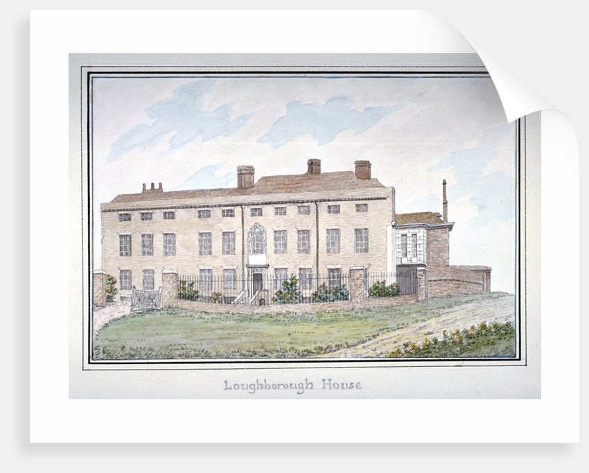 Loughborough House, Stockwell, Lambeth, London by Anonymous
