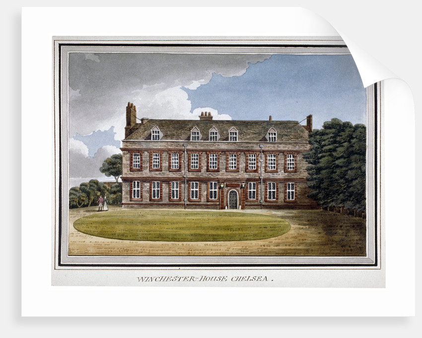 Winchester House, Chelsea, London by Anonymous