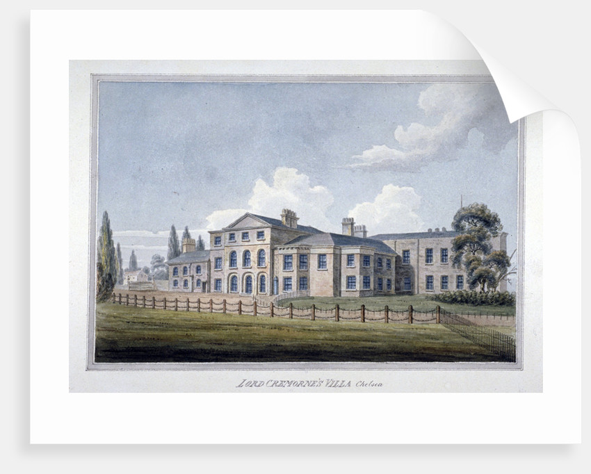 Lord Cremorne's villa, Chelsea, London by Anonymous