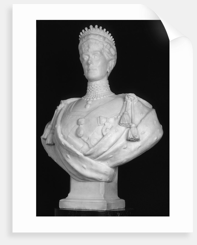 Bust of Queen Mary, consort of King George V by George Frampton