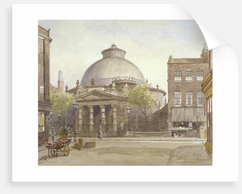 Spa Fields Chapel, Exmouth Street, Finsbury, London by John Crowther