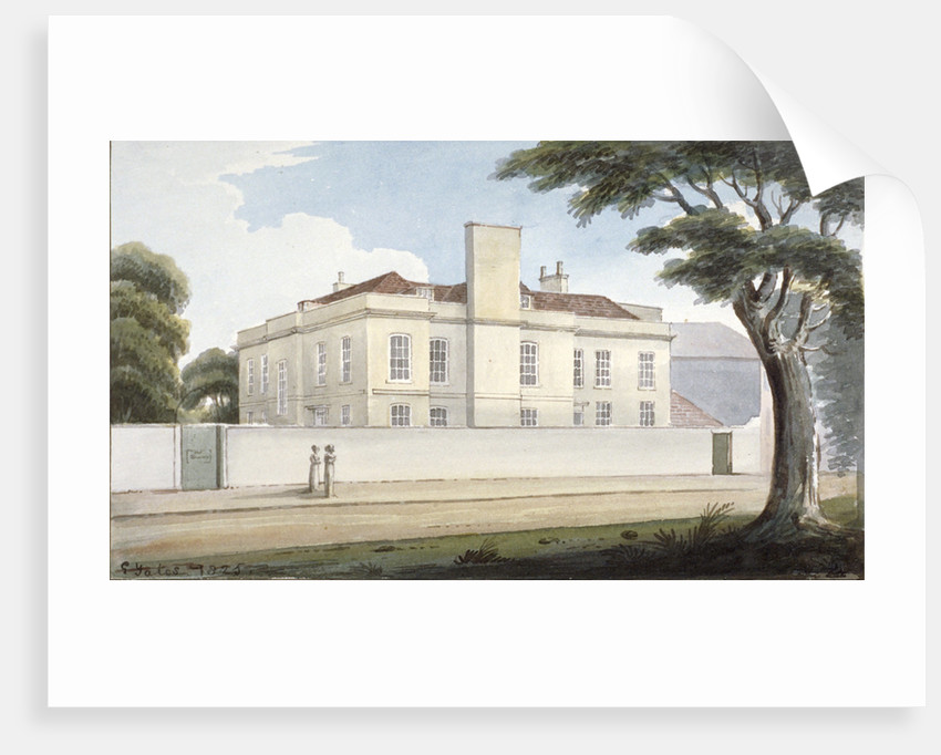 The 'Recovery', a house for the mentally ill in Mitcham Green, Mitcham, Surrey by G Yates
