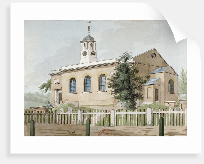 St Mary's Church, Hanwell, Middlesex by Anonymous