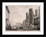 St James's Gate leading to St James's Palace, London by Edward Rooker