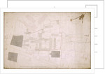 Plan of Christ's Hospital, Newgate Street, London and its adjoining estate by Anonymous