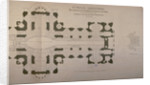Plan of seating arrangements for the Duke of Wellington's funeral by Anonymous