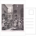 Noon, plate II from Times of Day by William Hogarth