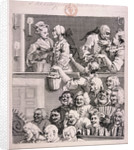 The laughing audience by William Hogarth