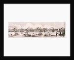 London from the River Thames, 1844 by Frank Vizetelly