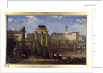 The Forum, Rome by David Roberts