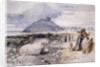 Criccieth, Wales by Sir John Gilbert