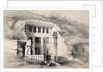 Kannari, Exterior of Great Chaitya Cave by Thomas Colman Dibdin