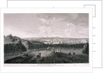 View from Greenwich Park, London by I Wood