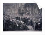 Inaugaration of Lord Mayor Nathaniel Newnham, London by Benjamin Smith