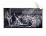 Queen Victoria's Coronation by Samuel Cousins