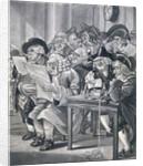 Stockjobbers at the Stock Exchange, Bartholomew Lane, London by Anonymous
