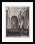 Stock Exchange, Bartholomew Lane, London by Joseph Constantine Stadler