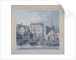 Billingsgate Wharf, London by Robert Clevely