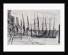 Boats alongside Billingsgate, London by James Abbott McNeill Whistler