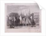 Billingsgate Wharf, London by Anonymous