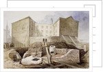 Roman Ruins at the Coal Exchange, London by Anonymous