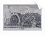 Blackfriars Bridge, London by Giovanni Battista Piranesi