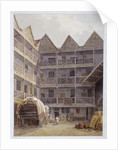 Drawing of the State Lottery, Coopers' Hall, London by Anonymous