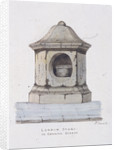 London Stone, Cannon Street, London by Frederick Nash