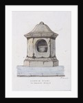 London Stone, Cannon Street, London by Frederick Nash