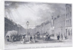 Fleet Prison, Farringdon Street, London by J Henshall